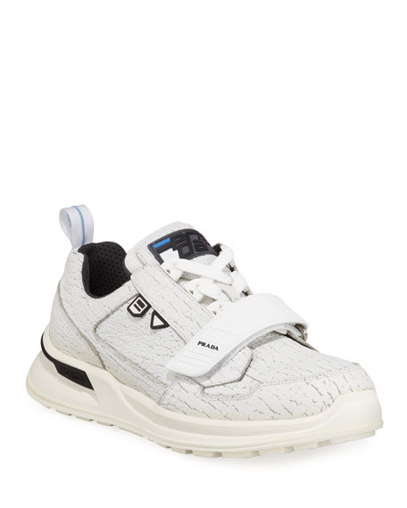 Men's Sport Sneakers with Grip-Strap