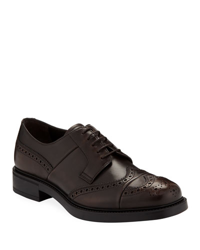 Men's Vitello Bristol Lace-Up Brogue Oxford