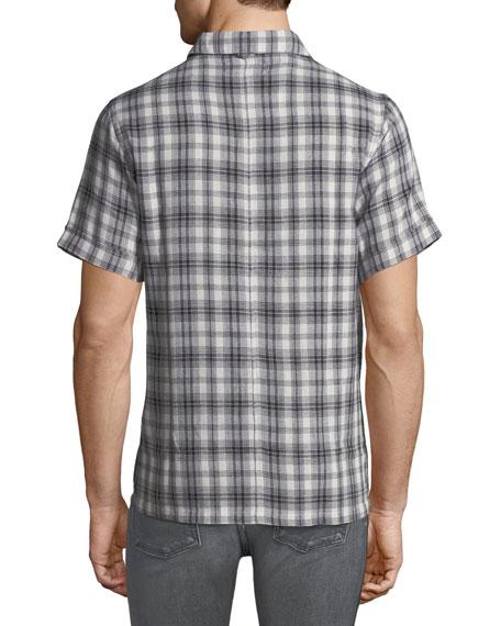 Men's Ashkelon Plaid Polo Shirt