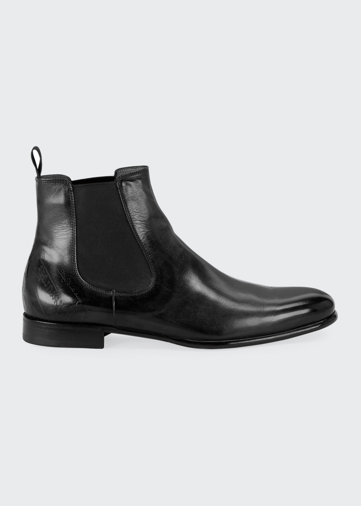 top-rated genuine hot-selling authentic convenience goods Men's Scritto Leather Chelsea Boots