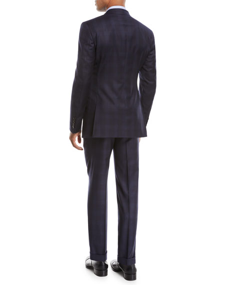 Men's O'Connor Overcheck Two-Piece Wool Suit