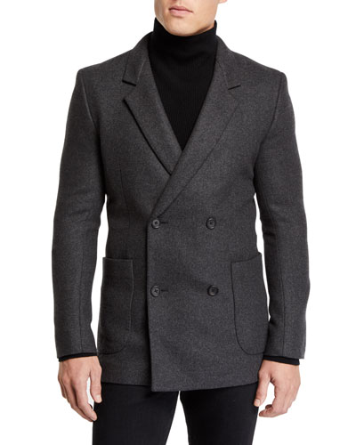 Men's Mies Cashmere Pea Coat