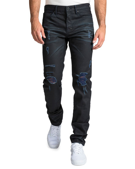 Image 1 of 1: Men's Le Sabre Repaired-Distressed Jeans