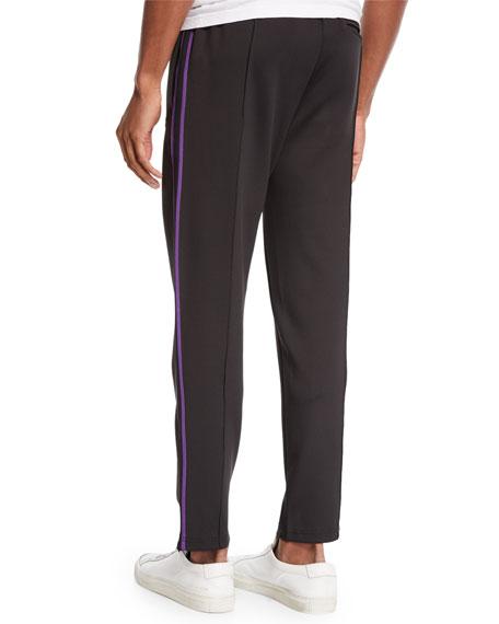 Men's Side-Stripe Ball Track Pants