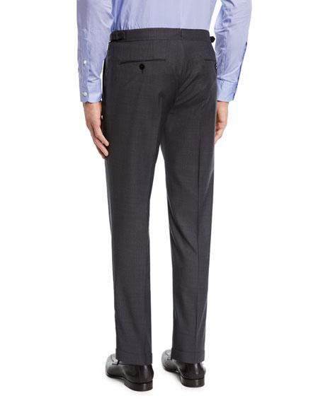 Men's Wool Stretch Dress Trousers