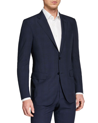 Men's Leggerissimo Two-Piece Solid Wool-Silk Suit