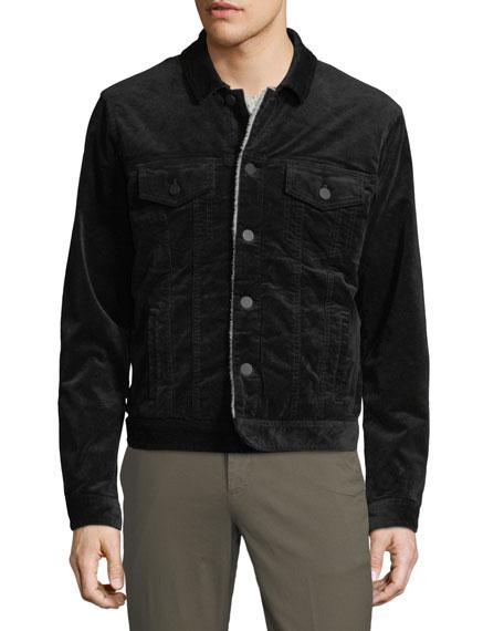 Men's Sherpa-Lined Corduroy Jacket