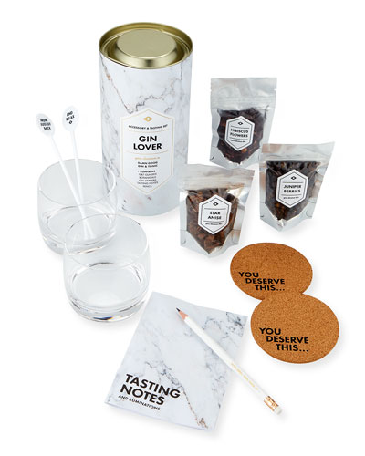 Gin Lover's Accessory & Tasting Gift Set