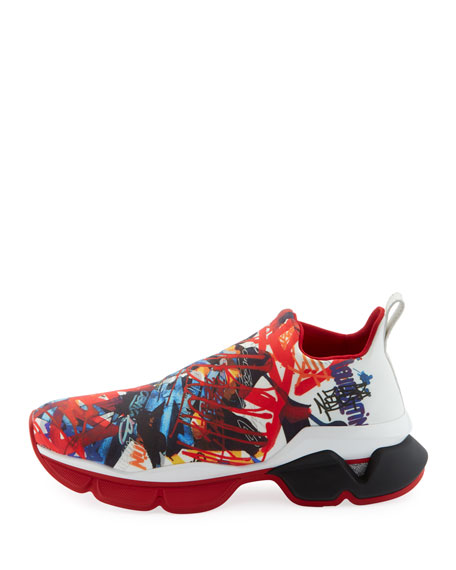 Men's Space Run Sock Sneakers