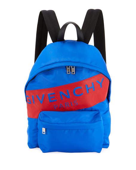 Image 1 of 1: Men's Urban Logo Nylon Zip-Around Backpack