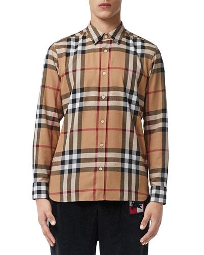 Men's Richard Plaid Shirt