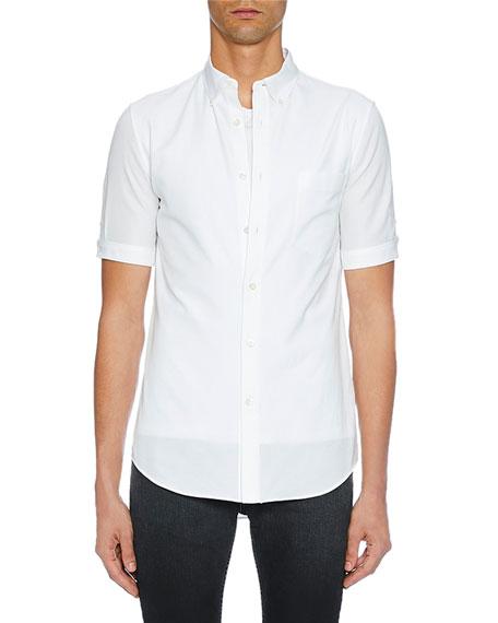 Men's Short-Sleeve Button-Up Shirt