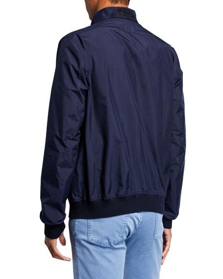 Men's Packable Bomber Jacket