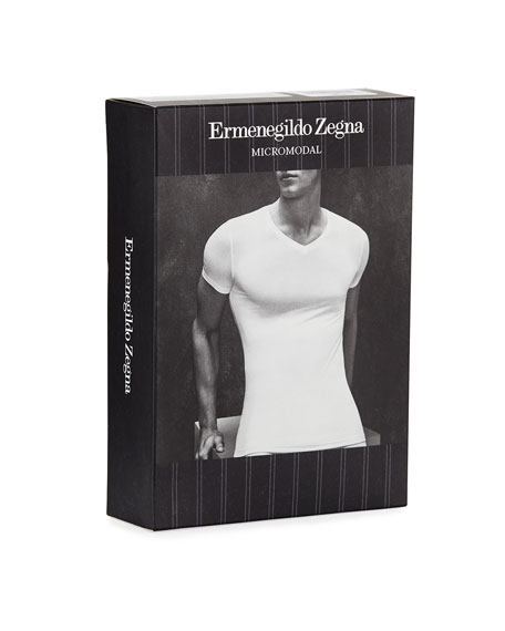 Men's Micromodal V-Neck T-Shirt