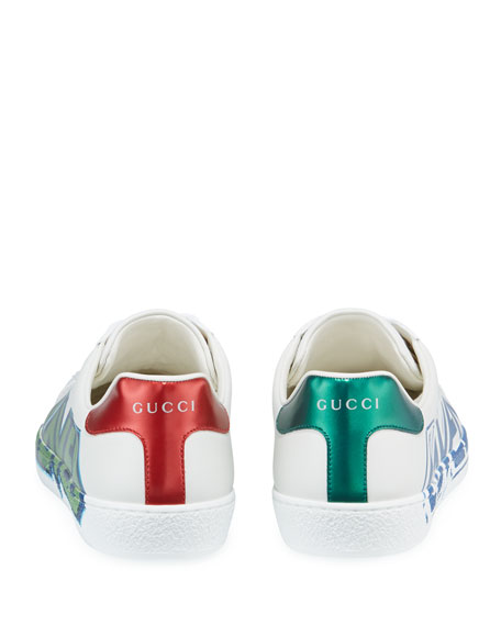 Men's Ace 'Loved' Leather Sneakers