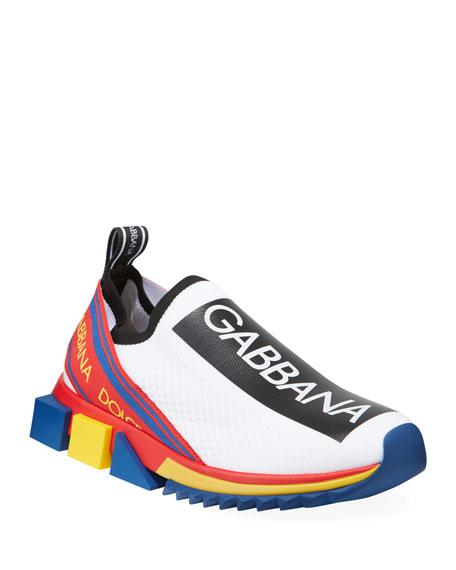 Dolce & Gabbana Men's Multicolor Sorrento Sneakers