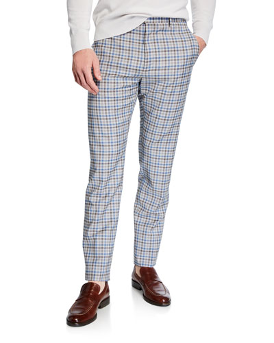 Men's Lightweight Tattersall Check Pants