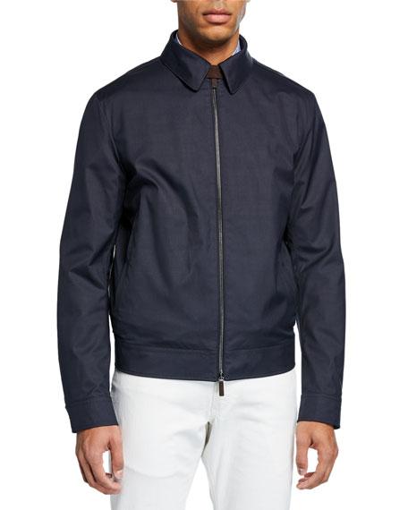 Men's Barracuda Zip-Front Jacket