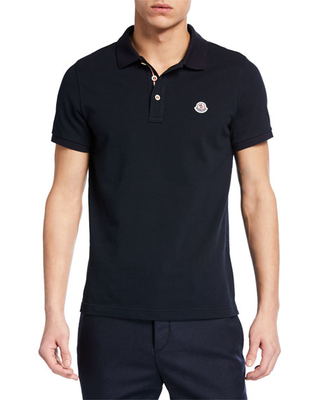 Image 1 of 1: Men's Basic Polo Shirt