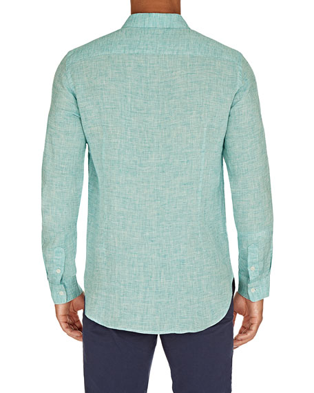 Men's Morton Tailored Linen Sport Shirt