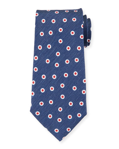 Camargue Small-Circle Tie  Multi