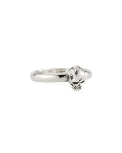 Men's Carved Skull Ring