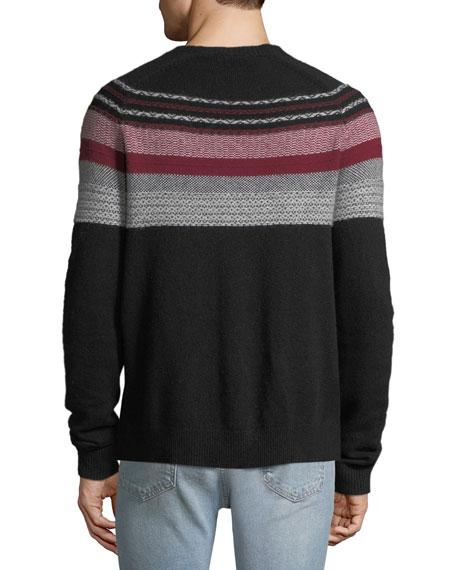 Men's Merino Fair Isle Sweater