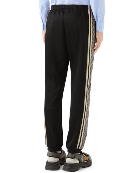 Men's Cut-And-Sewn GG-Logo Track Pants