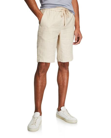 Men's Raw Hem Track Shorts