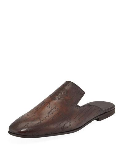 Men's Cyrus Oman Calf Leather Slipper