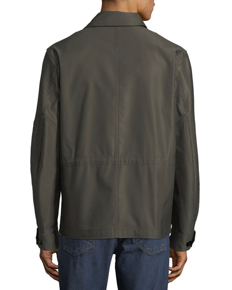 Men's Sateen Military Blouson Jacket