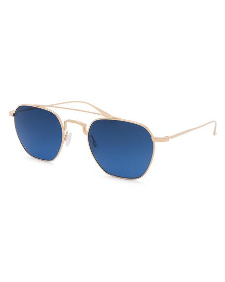 Men's Doyen Titanium Aviator Sunglasses