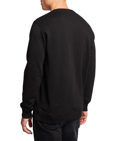 Men's Logo Graphic Regular-Fit Sweatshirt