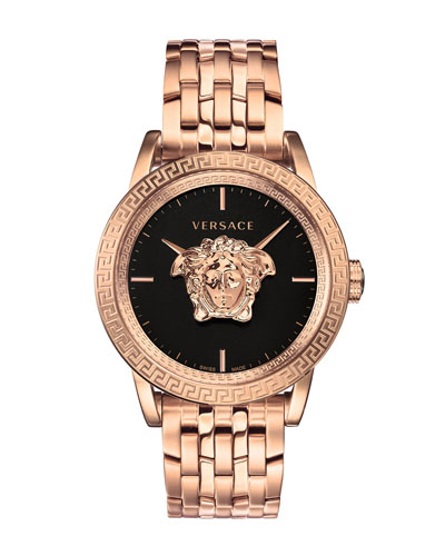 Men's 43mm Palazzo Empire Watch  Rose Gold
