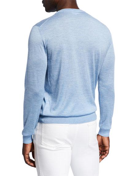 Men's Cashmere-Blend Crewneck Sweater