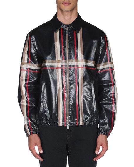 Men's Engineered Checked Jacket