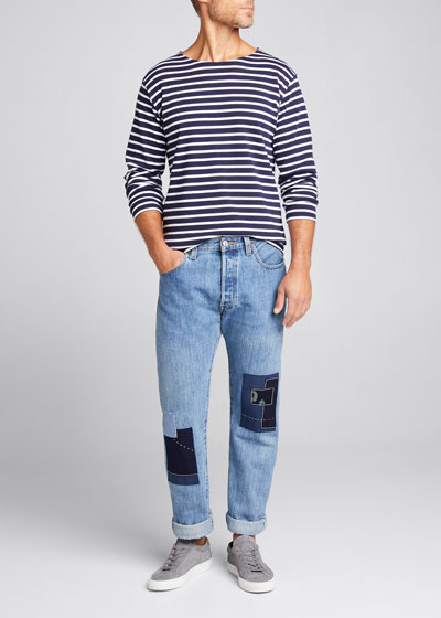 Men s Marinire Heritage Striped Long-Sleeve T-Shirt f3a60210e
