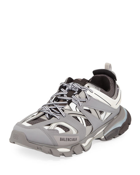 Image 1 of 1: TRACK RUNNER GREY