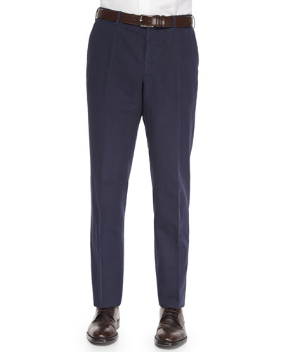 Chinolino Cotton/Linen Trousers