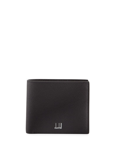 Men's Cadogan Leather 8-Card Bi-Fold Wallet