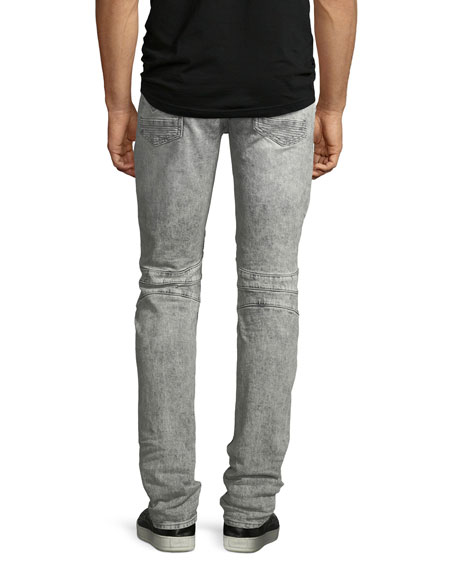 Men's Blinder Biker Destructed Skinny Jeans