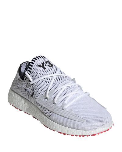 Men's Raito Racer Knit Running Shoes  White