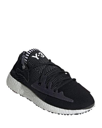 Men's Raito Racer Knit Running Shoes  Black