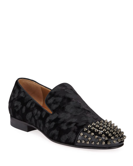 Men's Spooky Spiked Red Sole Loafers