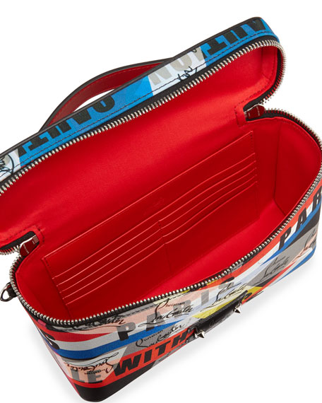 Men's Kypipouch Loubiballage Graphic Logo Travel Toiletry Case