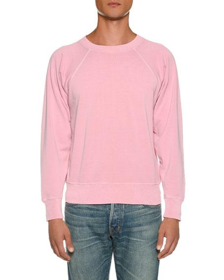 Men's Vintage Garment-Dyed Loop Back Sweater