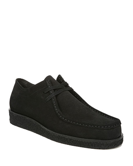 Image 1 of 1: Men's Trent Suede Lace-Up Shoes