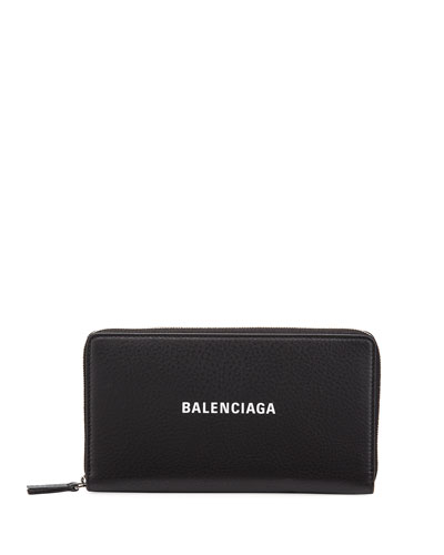 Men's Everyday Leather Continental Wallet