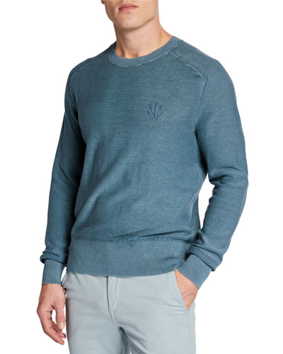 Men's Lance Dagger Embroidered Sweatshirt