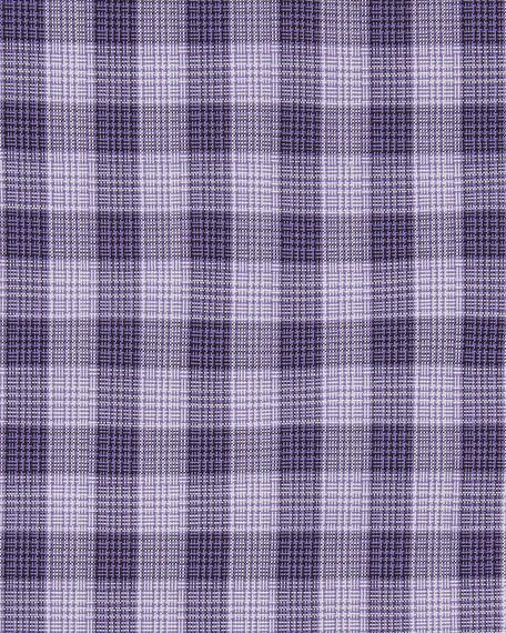 Men's Subtle Gingham Dress Shirt